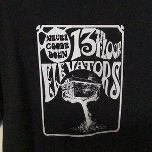 RARE 13th Floor Elevators NEVER COME DOWN T-Shirt